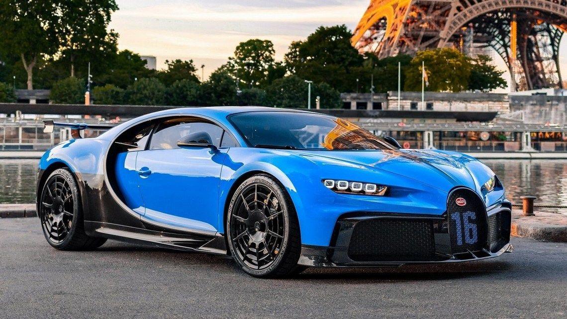 Bugatti Chiron Pur Sport 2021 Nouveau développement de