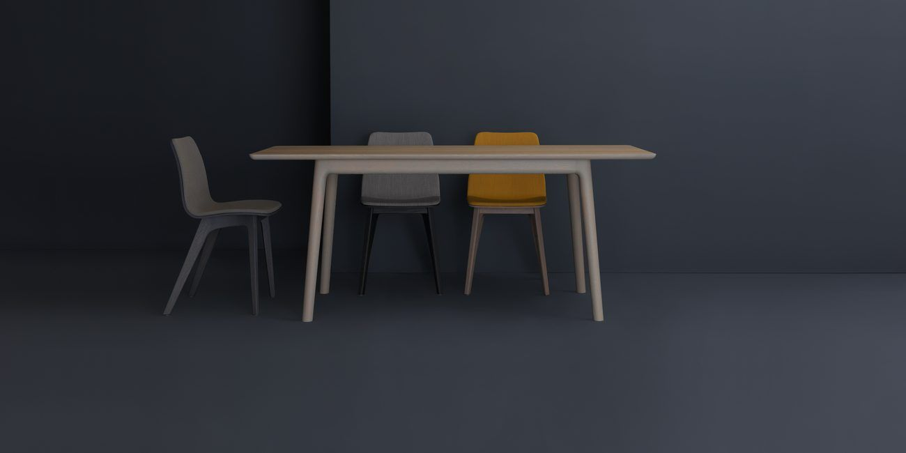 E8 Table By Mathias Hahn With Morph Chairs By Formstelle For