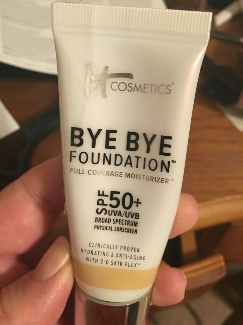 My new fave cosmetics its essentially a foundation but