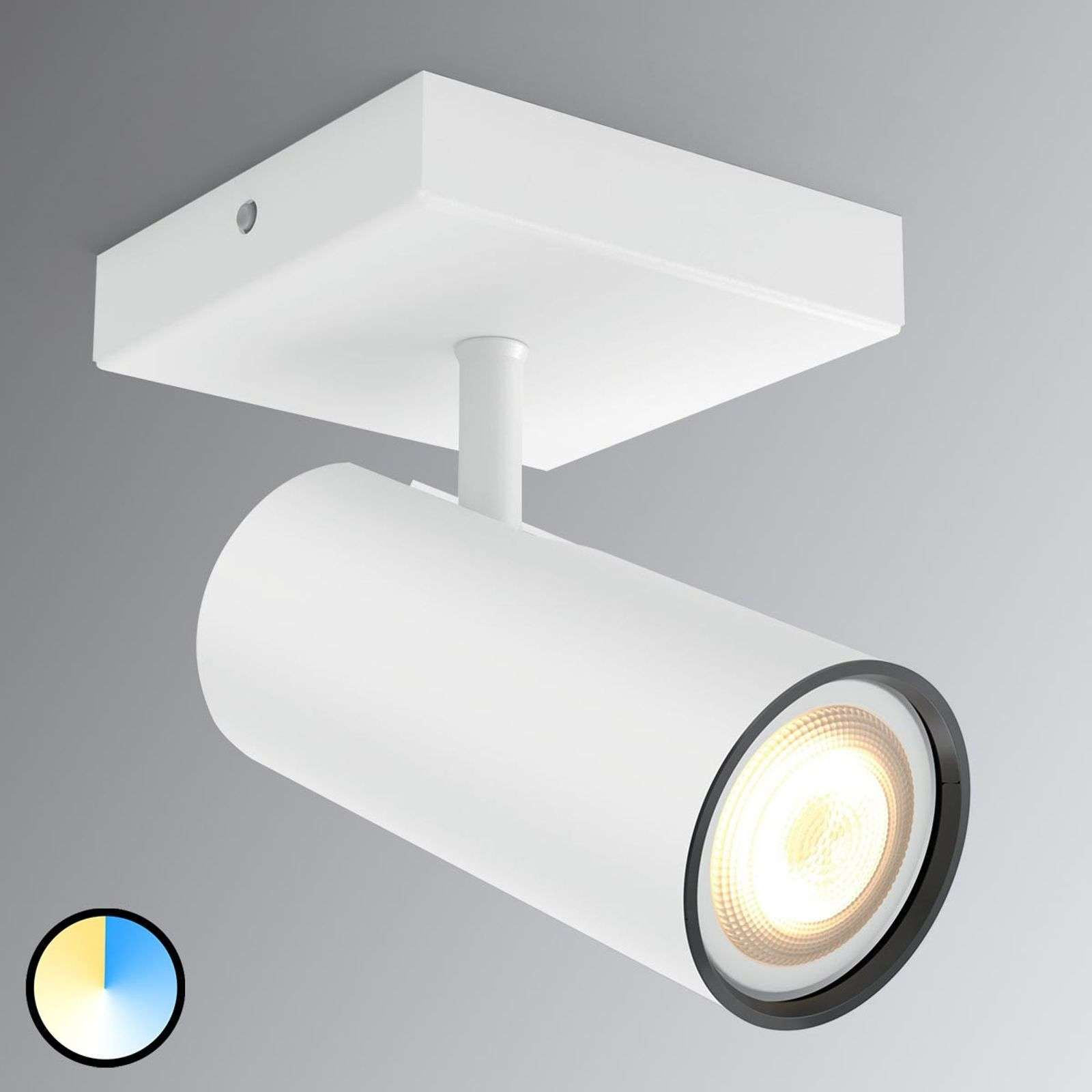 Philips Hue Buratto Led Spot Weiss 1flammig In 2020 Led Plafondlamp Lampen