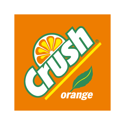 crush orange vector logo crushes logos and vector format rh pinterest ca orange crush logo font orange crush soda logo