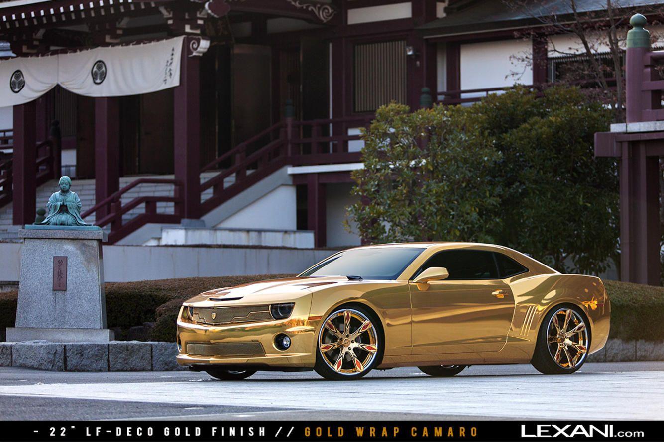 Lexani Wheels, the leader in custom luxury wheels. Gold
