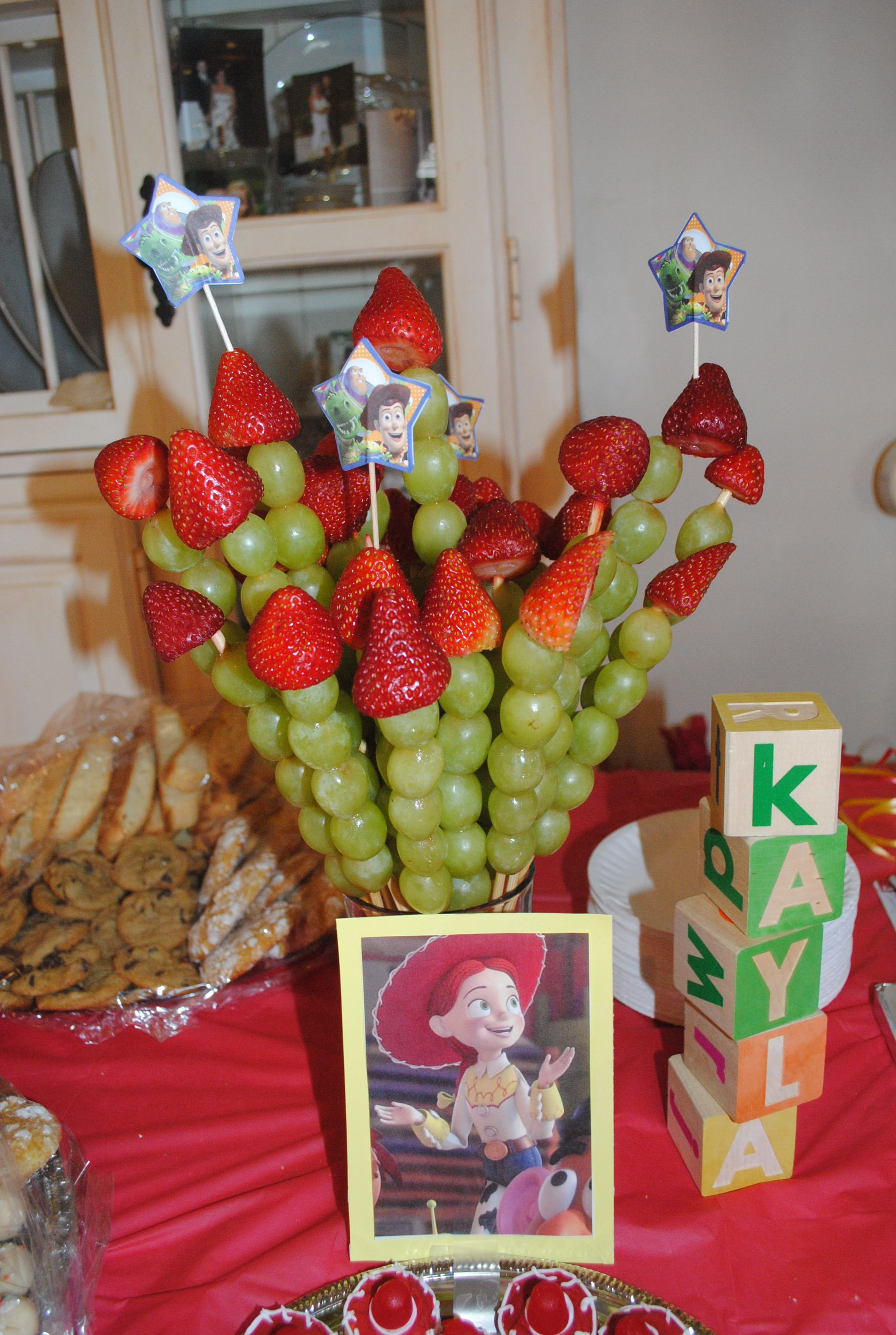 Rockets (Toy Story theme) Toy story party food, Toy
