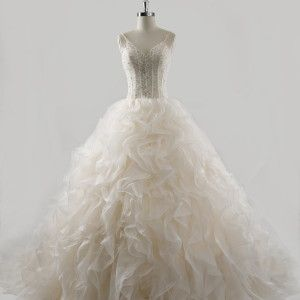 this is one of the new corset style weddingdresses being