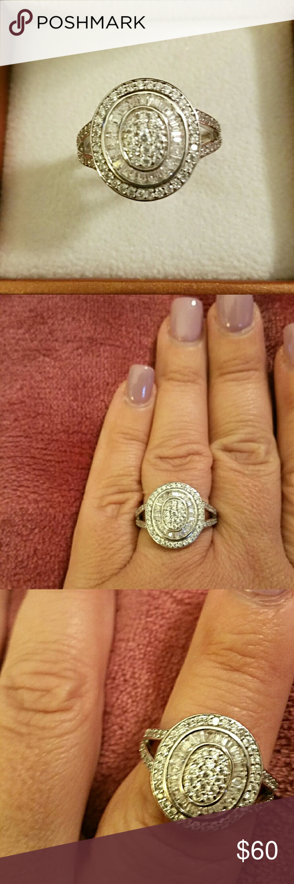 Bella Luce Sterling Silver Ring