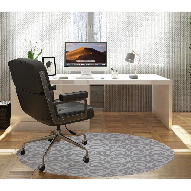 Straight Round Chair Mat Kavka Designs Home Office Furniture Furniture Deals
