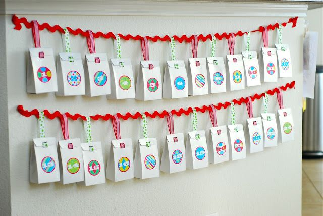 Diy Last Minute Advent Calendar Free Printable Homemade