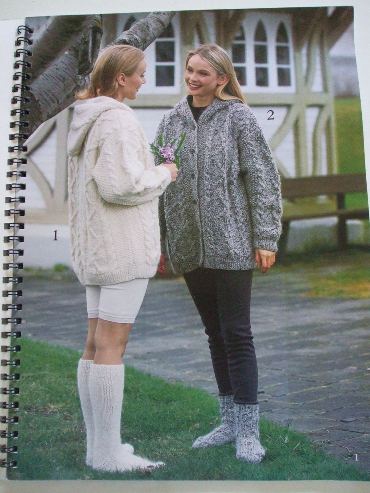 Second Silver - Istex #14 Icelandic Lopi knitting patterns hooded ...