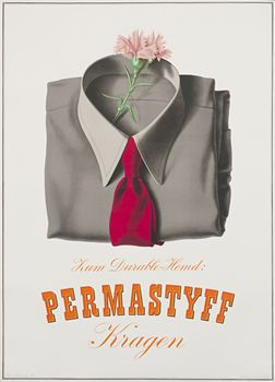 Peter Birkhaeuser, Permastyff - The collar with the durable shirt, 1943