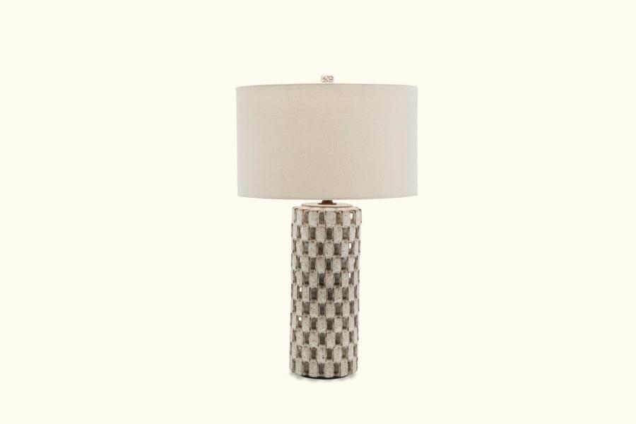 White Domino Lamp Lamp White Dominoes Bottle Lamp