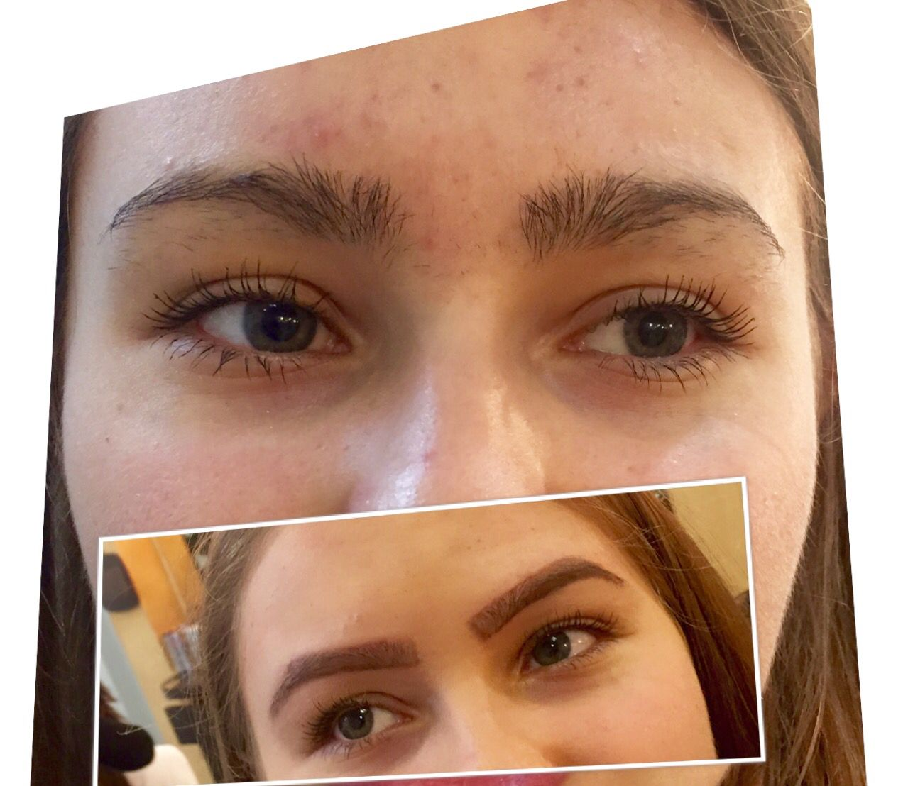 Before and after, eyebrow more than important! ️ ...