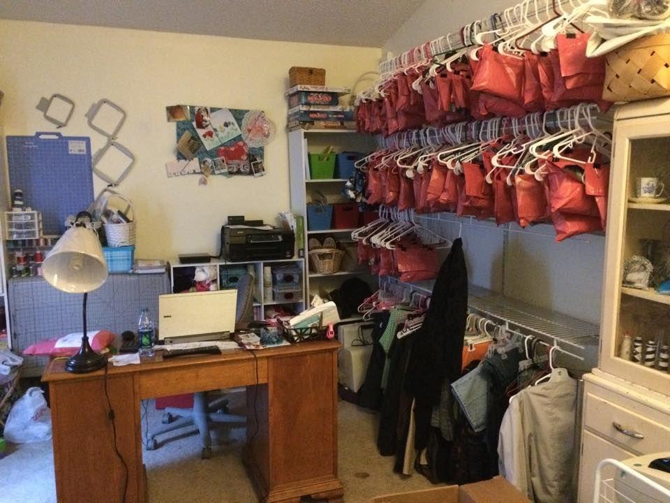 Ebay office/storage room   Ebay Poshmark Etsy Online ...