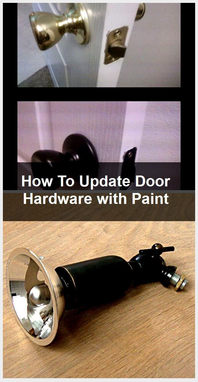 Photo of How To Update Door Hardware with Paint,  #door #Hardware #paint #Update