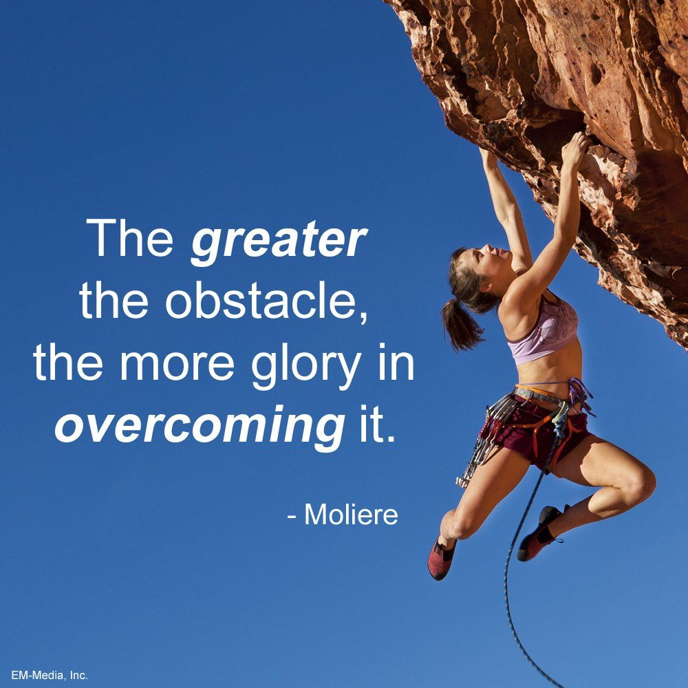 Quotes On Overcoming Obstacles Entrepreneurs Clarity Sometimes When We're Pushed Against The