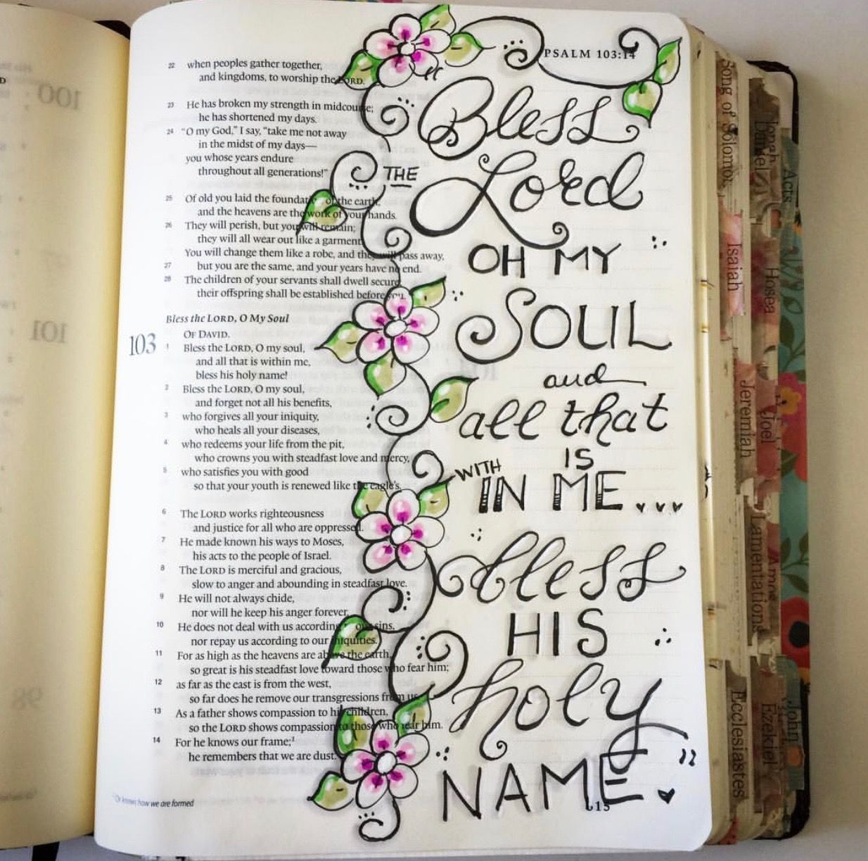 psalms bible doodling bible art bible study journal