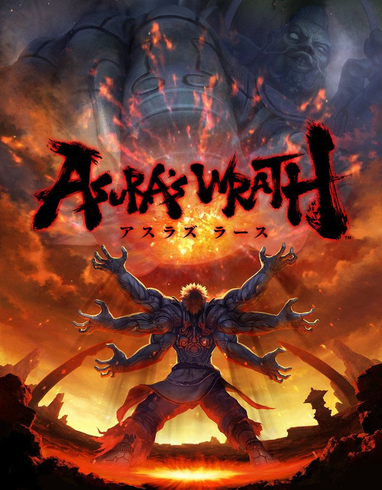 Asura Iphone 6 Wallpapers Asura S Wrath Wrath Artwork Pictures