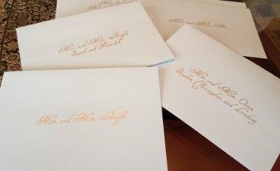 My Cheating Calligraphy Weddings Do It Yourself