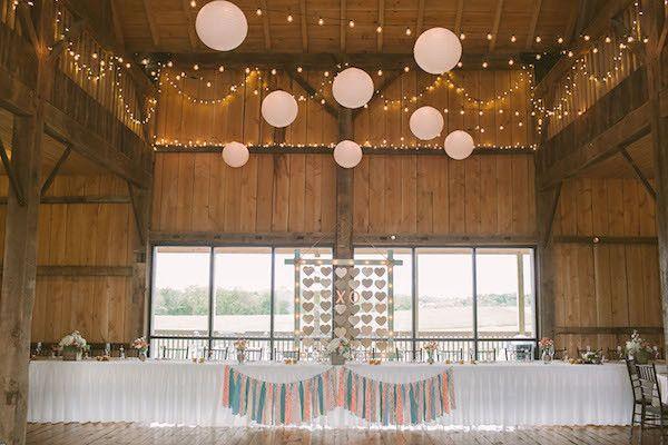 Rustic Reception Ideas Photo By Hot Metal Studio Http Ruffledblog White Barn Wedding