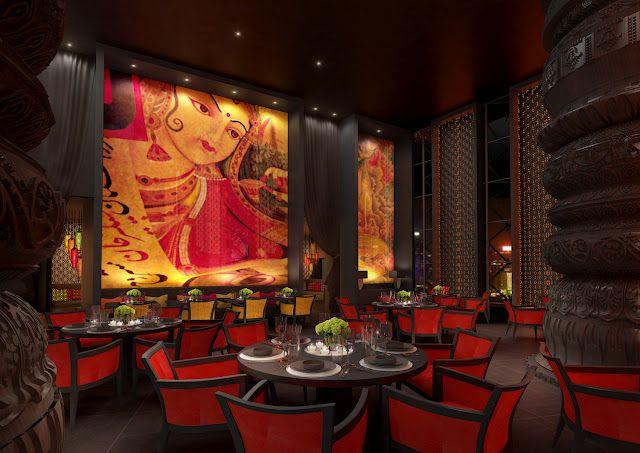 Jw Marriott Marquis Dubai Indian Restaurant Great Design
