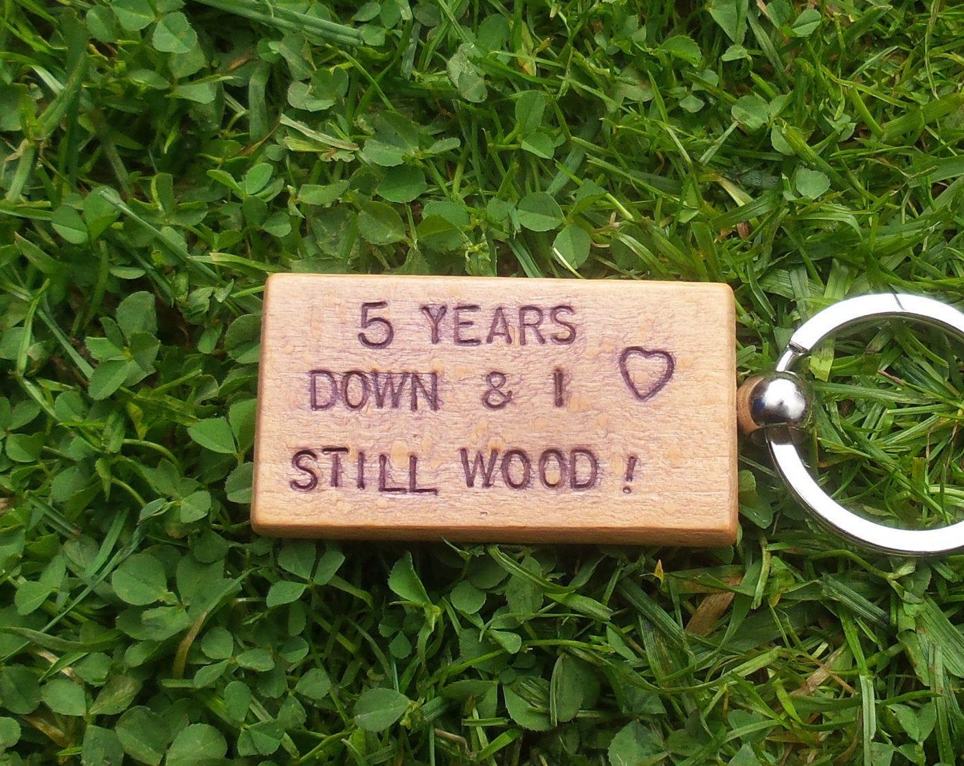 5 years down i still wood 5th wedding anniversary gifts