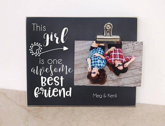 Best Friends Photo Frame Birthday Gift For Best Friend