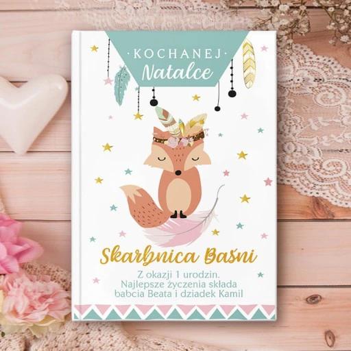 Ksiazka Bajki Prezent Dla Dziecka Lisek 215 Str Book Cover Books