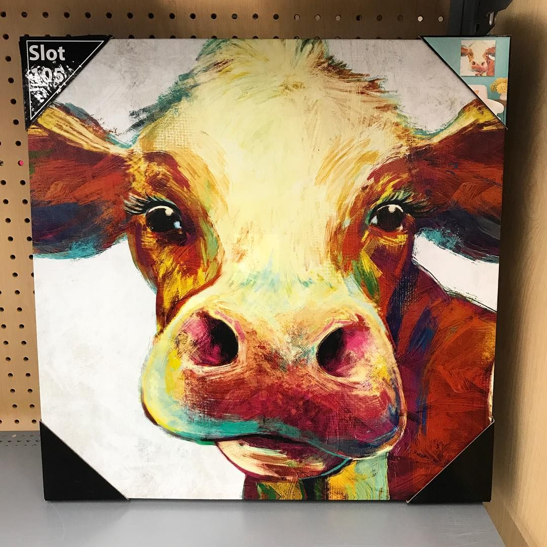 "Whoa, wait. Walmart? on Instagram: ""Cute lil colorful cow. Where ..."