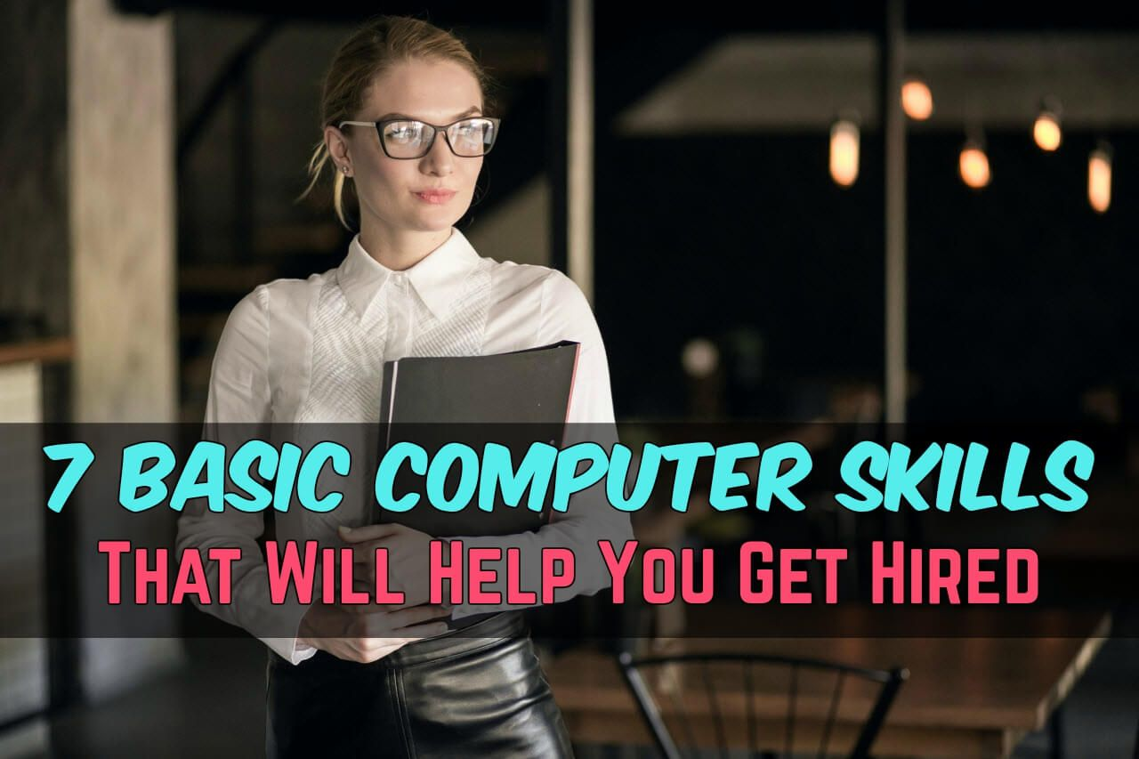 Are Your Computer Skills Strong Do You Know The Basics Basic Computer Skills Are A Necessity For Today S Modern World Computer Skills Marketing Jobs Skills