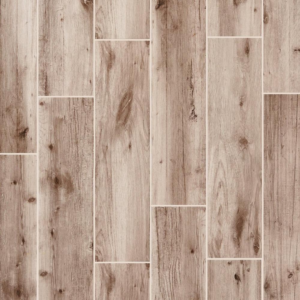 Mansfield Ash Wood Plank Porcelain Tile | Wood planks, Porcelain ...