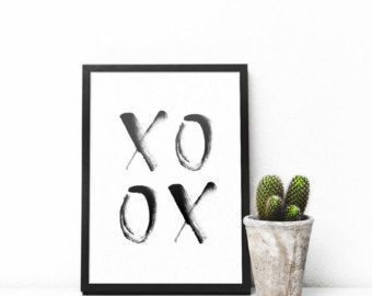 Inhale Exhale Print Minimalist Typography Art Yoga Wall Pilates Relaxation Gifts Breathe Home Instant Download