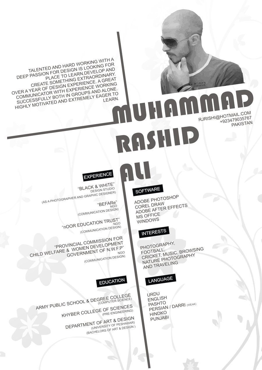 Army Computer Engineer Sample Resume 50 Creative Resume Design Samples That Will Make You Rethink Your Cv .