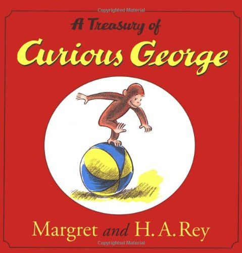 Curious George - Hardcover – Pacifier~ Love this!
