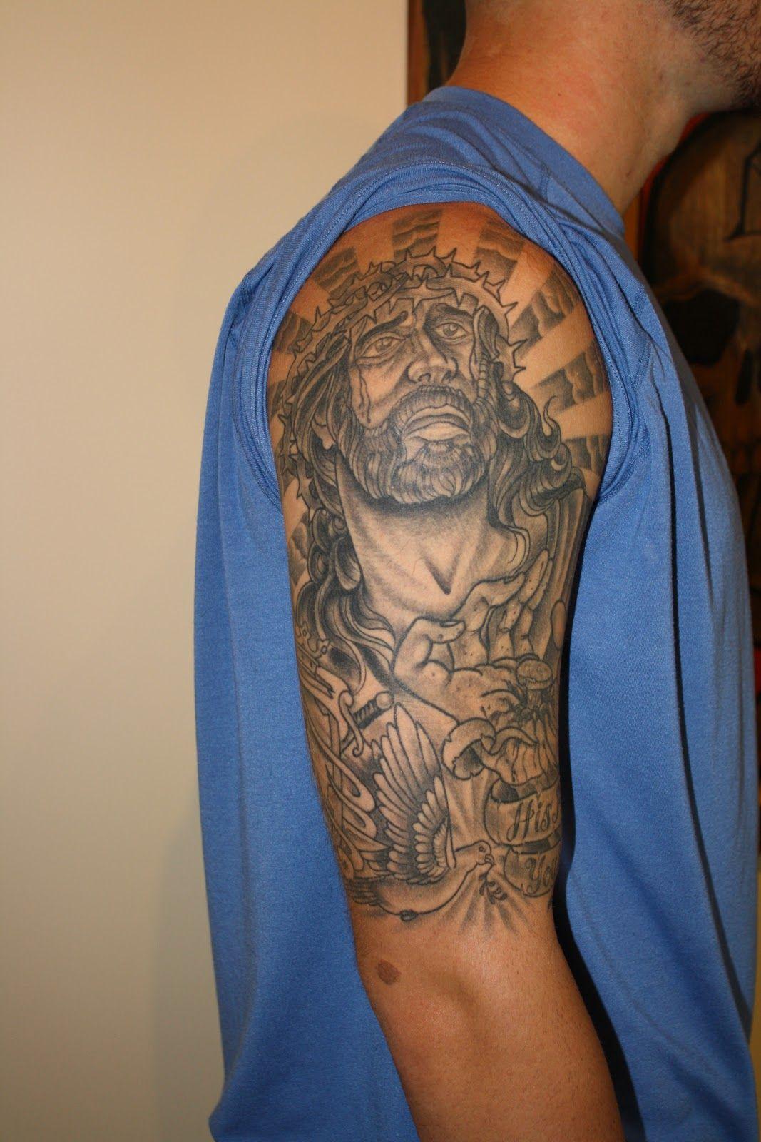 Trilogy Tattoos Alex jesus black and grey Grey tattoo