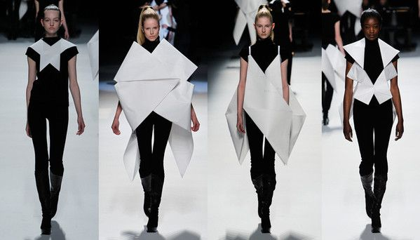 20 Paper Fashion Designers To Inspire You Mylo The Simplest Way For Men To Dress Well Paper Fashion Origami Clothing Fashion Design