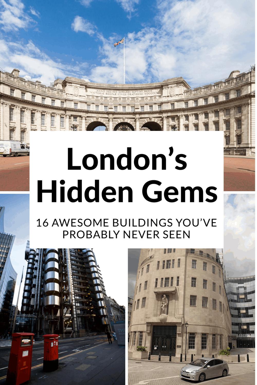 London Architecture S Hidden Gems In 2020 London Sightseeing London Architecture London