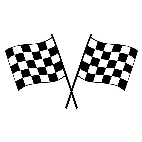 Set Of 2 Racing Flags Iron On Screen Print Transfers For Etsy In 2021 Screen Printed Fabric Flag Printable Disney Cars Party