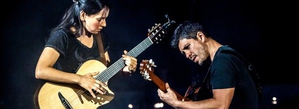 Rodrigo y Gabriela, Saturday, April 26 • 8:00pm • $44.50–$54.50 Known for exhilarating live shows, Rodrigo Sanchez and Gabriela Quintero have won the hearts of music lovers from the haciendas of Cuba to the Hollywood Bowl and festival fields of Europe, as they continue to weave their unique six-string magic. Bobby Long will open the show. Tickets: https://tickets.theegg.org/TheatreManager/1/login&performance=1998