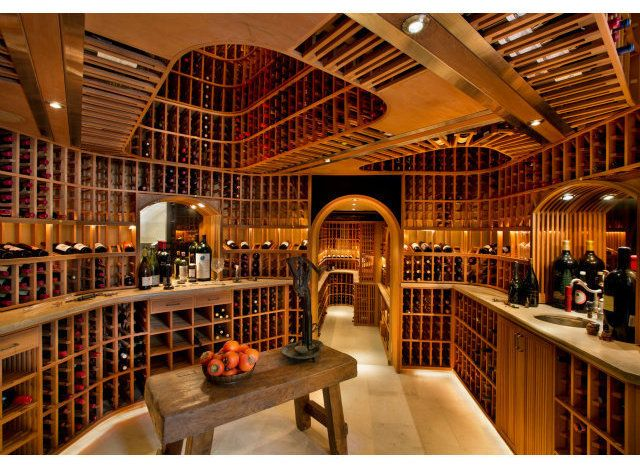 PHOTOS 10 Homes That Are Heaven For Wine Lovers Wine cellars