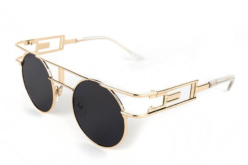 8b6886b07b6 Metal Frame Steampunk Sunglasses Women Brand Designer Unique Men Gothic Sun glasses  Vintage Oculos De Sol Feminino 8 Color Like and share if you think it`s ...