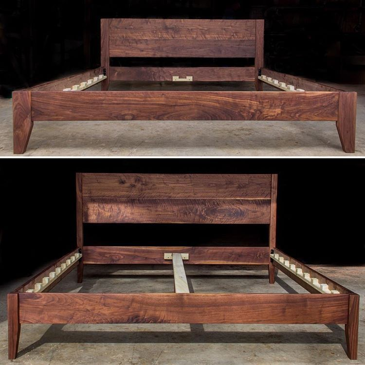 Two Different King Size Walnut Bed Styles Shipping Out Today