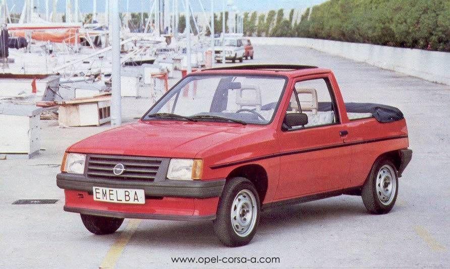 opel corsa cabriolet von emelba 1984 einzelst ck opel corsa pinterest. Black Bedroom Furniture Sets. Home Design Ideas