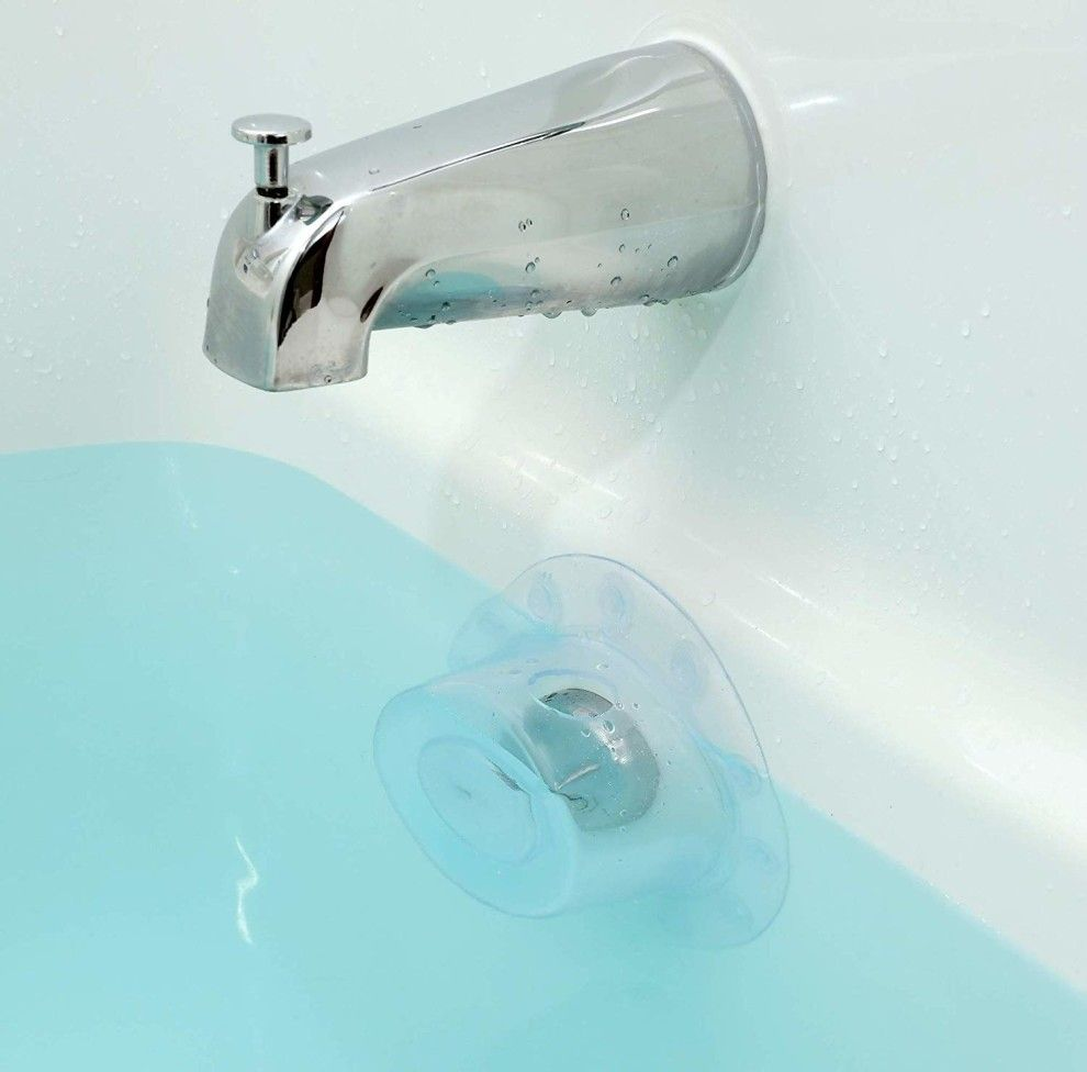 An Overflow Drain Cover That Ll Keep Your Bathtub From Stopping