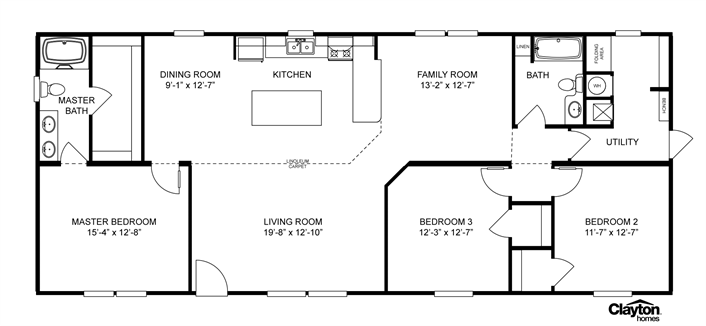 Interactive House Plans Interactive Floor Plan Manufactured Homes By Clayton