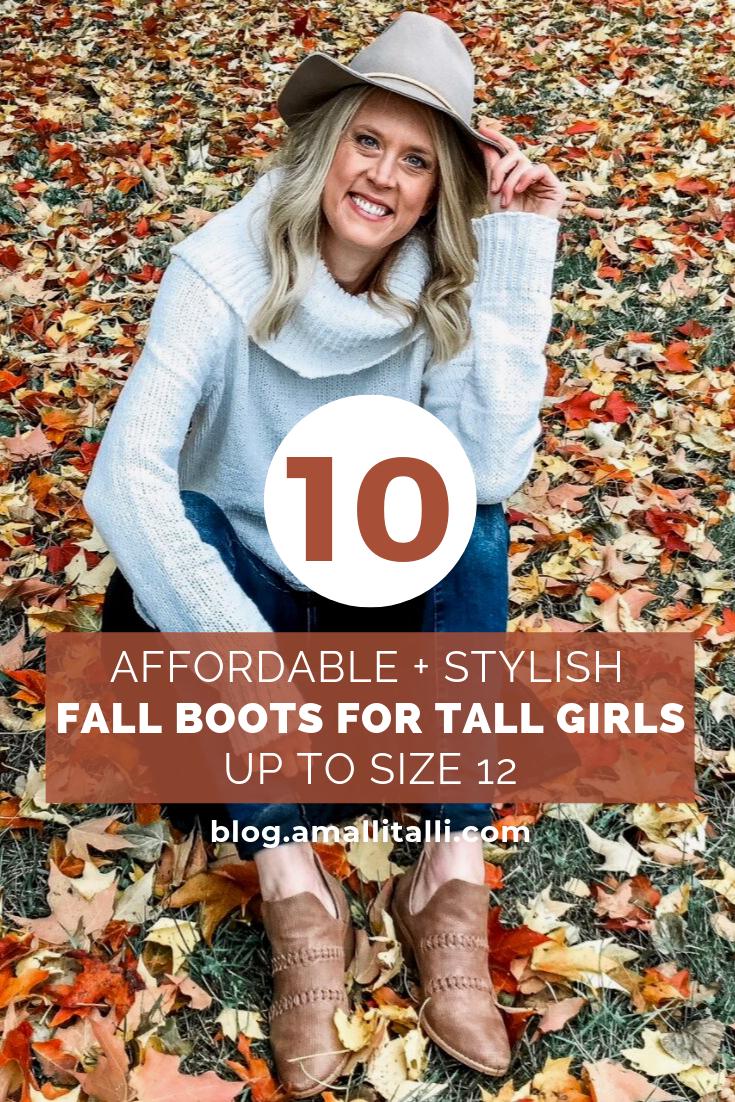 Tall girl fashion, Stylish fall boots