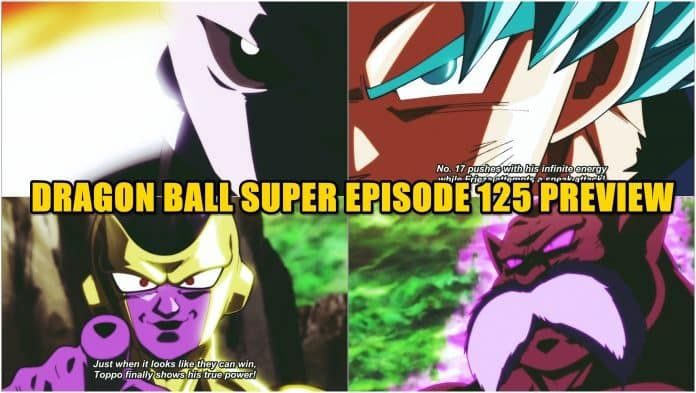 Dragon Ball Super Episode 125 Final Preview Breakdown   Anime
