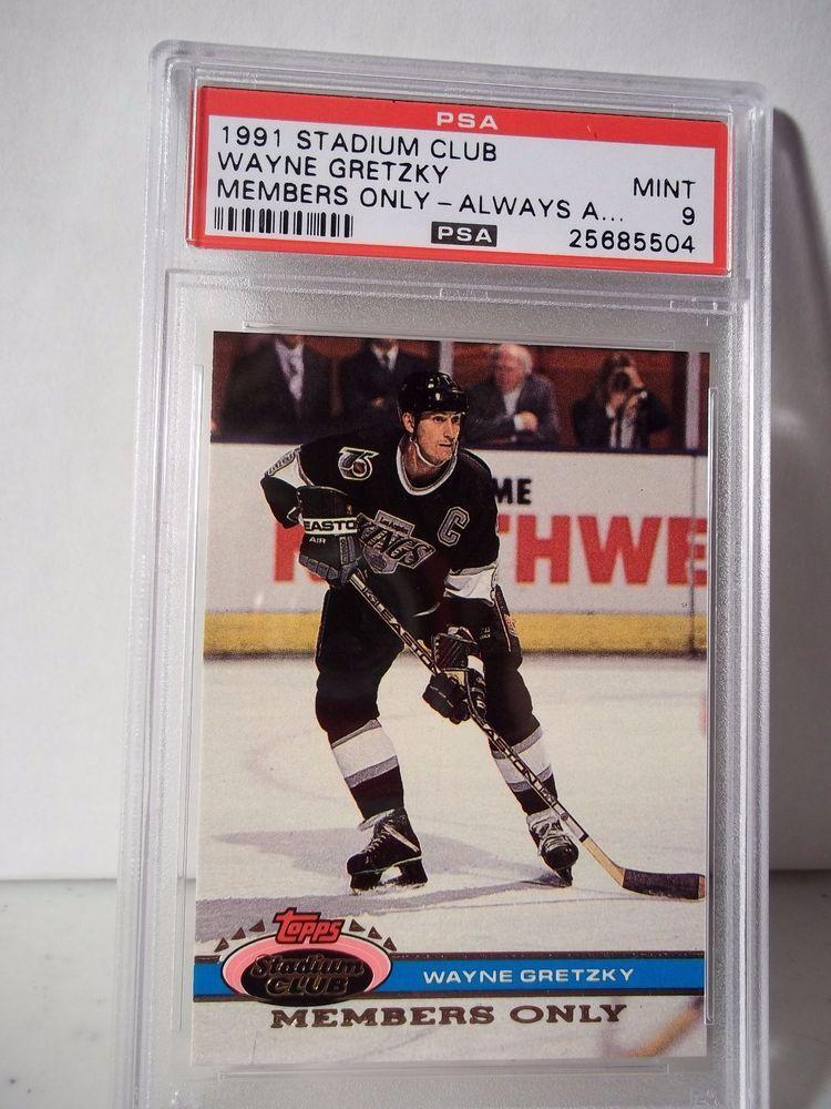 1991 Stadium Wayne Gretzky Members Only Graded PSA Mint 9