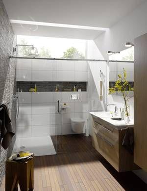 Badambiente – 2 mal 7,8 Qm | Badezimmer in 2019 | Badezimmer ...