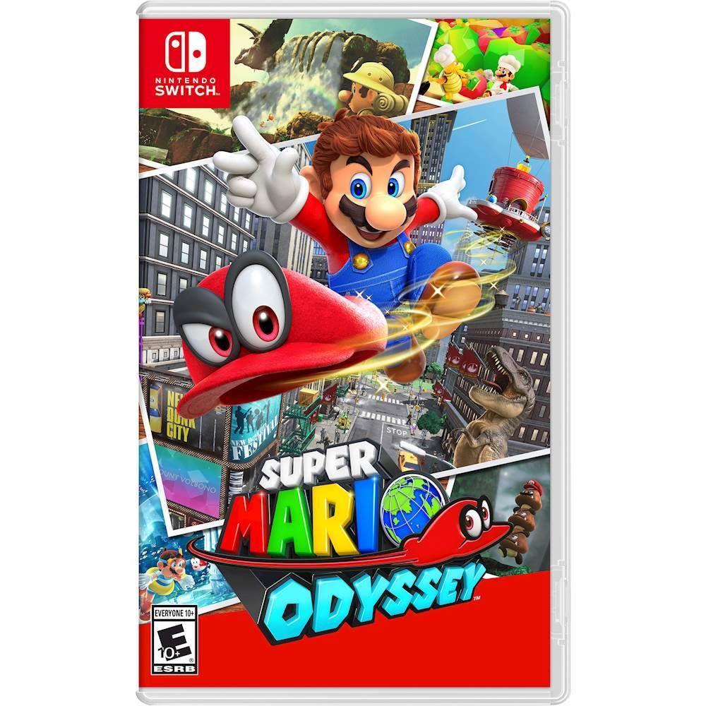 Super Mario Odyssey Standard Edition Nintendo Switch Hacpaaaca Best Buy Nintendo Switch Super Mario Super Mario Mario