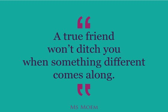 What's The Mark Of A True Friend   Food for Thought