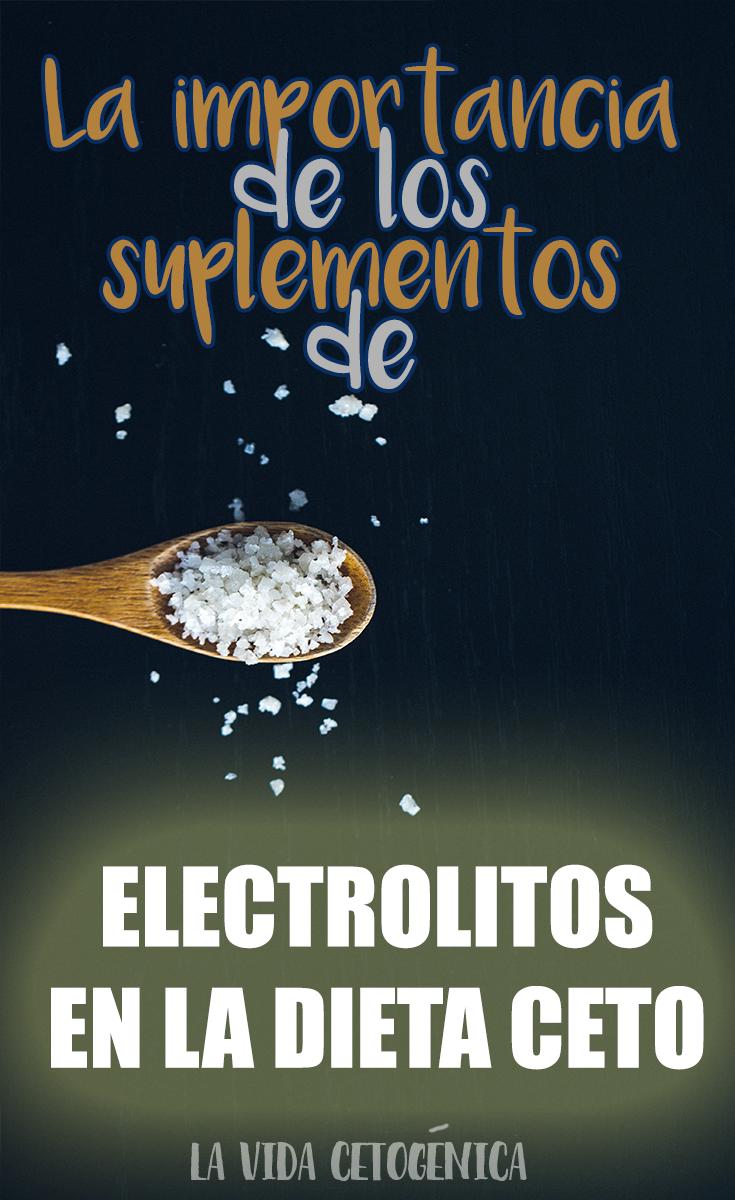 ¿por qué necesitas electrolitos en la dieta cetosis?